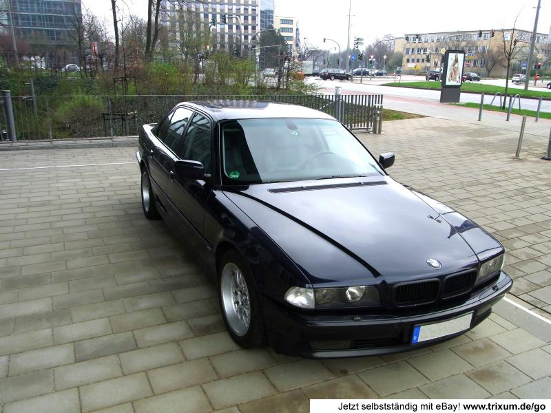 7er bmw 740i e38 shadowline top 7ner mit v8 286ps motor ebay. Black Bedroom Furniture Sets. Home Design Ideas