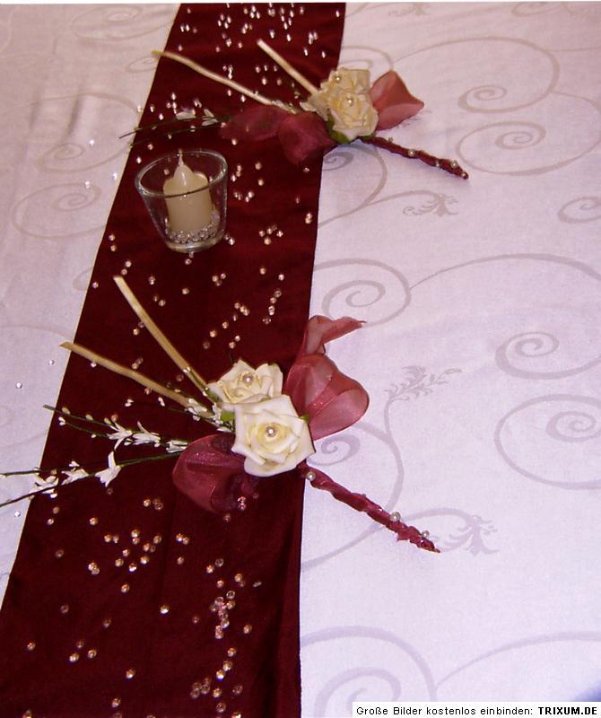 Xxl Tischdeko Creme Konfirmation Jugendweihe Hochzeitsdeko