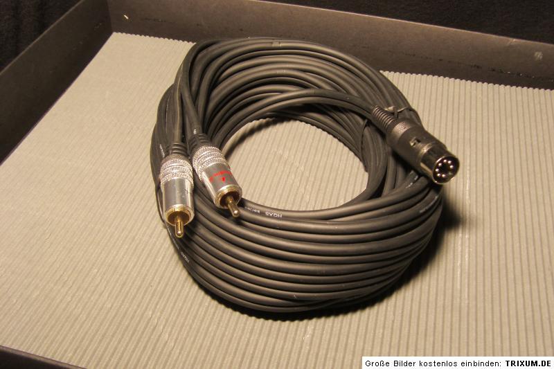 beo 5m kabel 7pol auf 2xcinch f r tv ton bang olufsen. Black Bedroom Furniture Sets. Home Design Ideas
