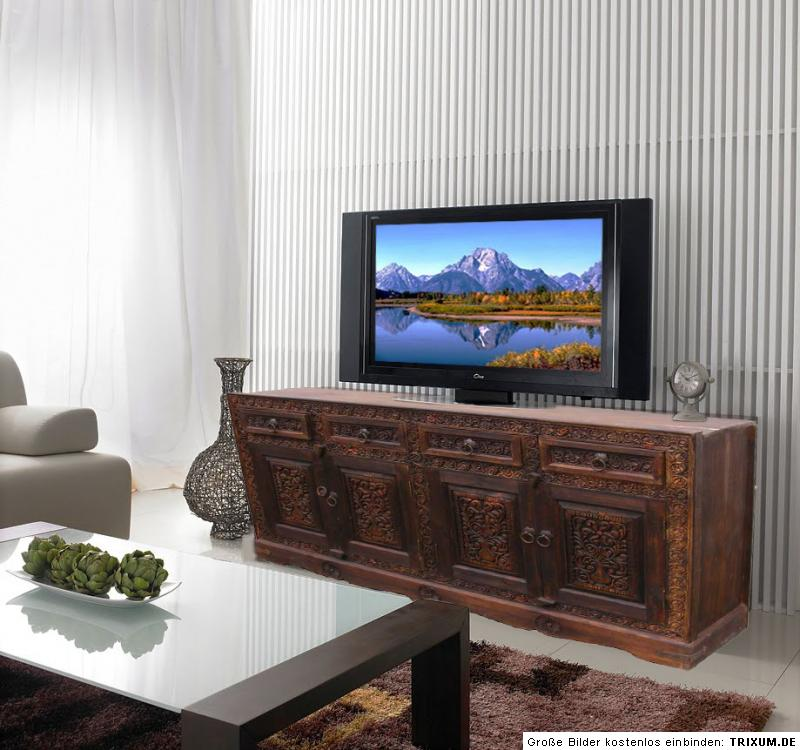 antik look orient schrank boffet sideboard anrichte nur ebay. Black Bedroom Furniture Sets. Home Design Ideas
