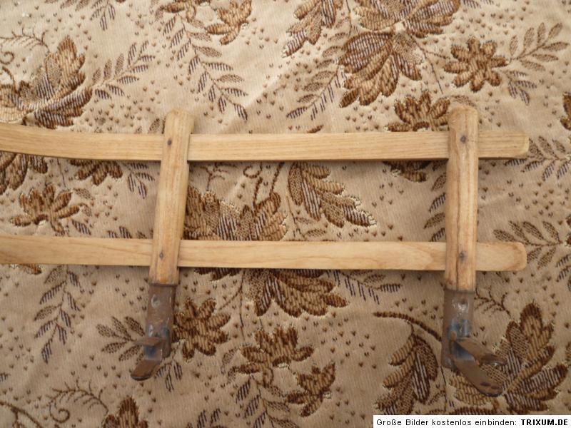 alte schlittenlehne r ckenlehne lehne f r schlitten 8 ebay. Black Bedroom Furniture Sets. Home Design Ideas