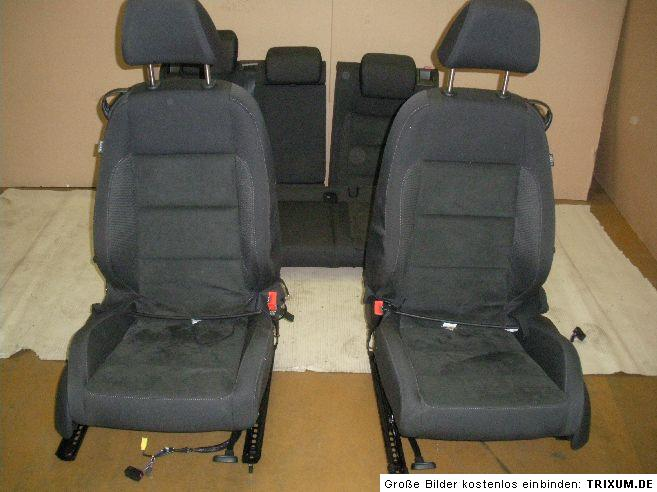 vw golf 6 sitze 3 t rer sport alcantara ebay. Black Bedroom Furniture Sets. Home Design Ideas