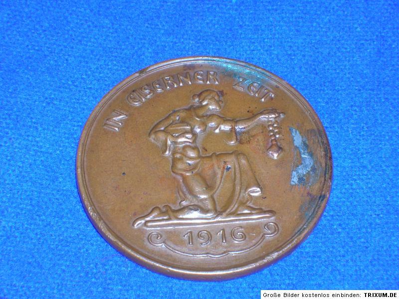 medaille in eiserner zeit fehlpr gung aus bronze ebay. Black Bedroom Furniture Sets. Home Design Ideas
