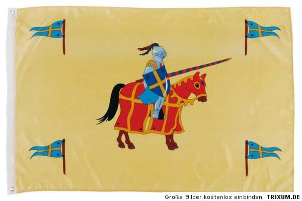 flagge ritter fahne ritterburg für spielturm